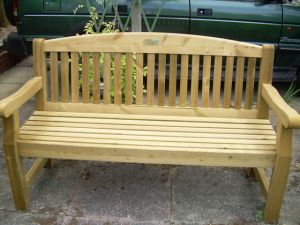 bench for Memory Cafe,Dunsford