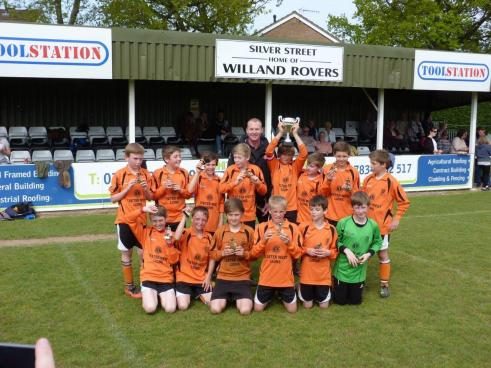 Winners of the Exeter Youth League Under 12\\\\'s Plate Final