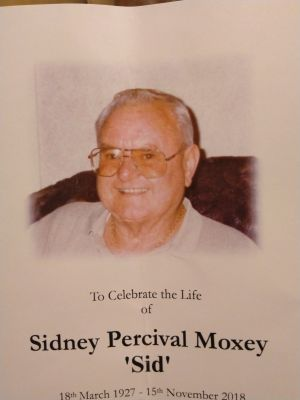 "Sidney Percival Moxey ""Sid"""