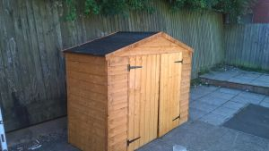 New shed for Exwick Commuity centre garden project